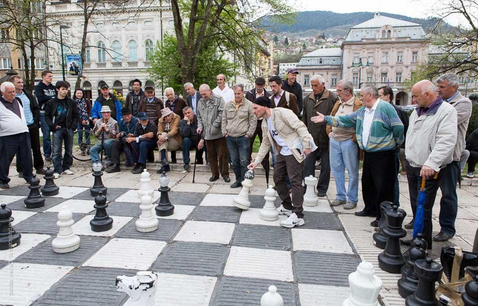 Schack med publik