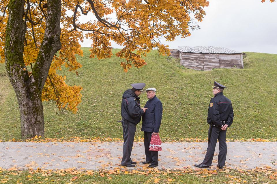 Samtal med polis