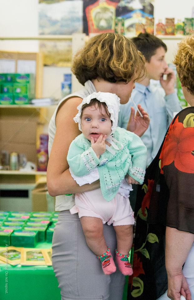 Bebis på honungsfestival