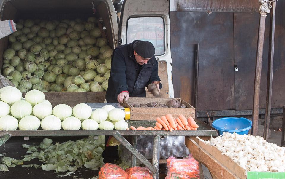 Grönsaksförsäljare VIII