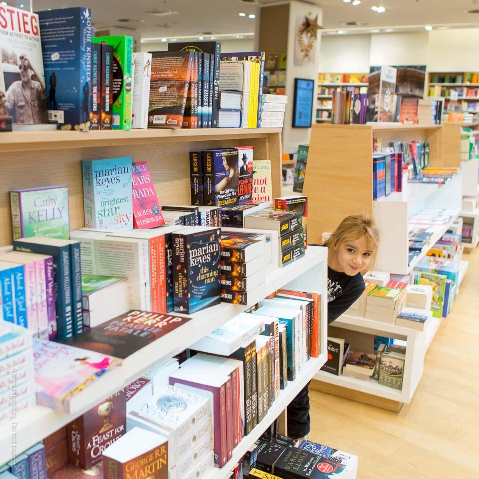 I bokhandeln