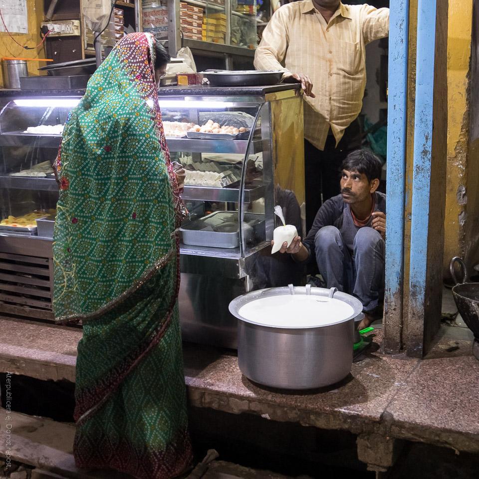 Mjölkförsäljare