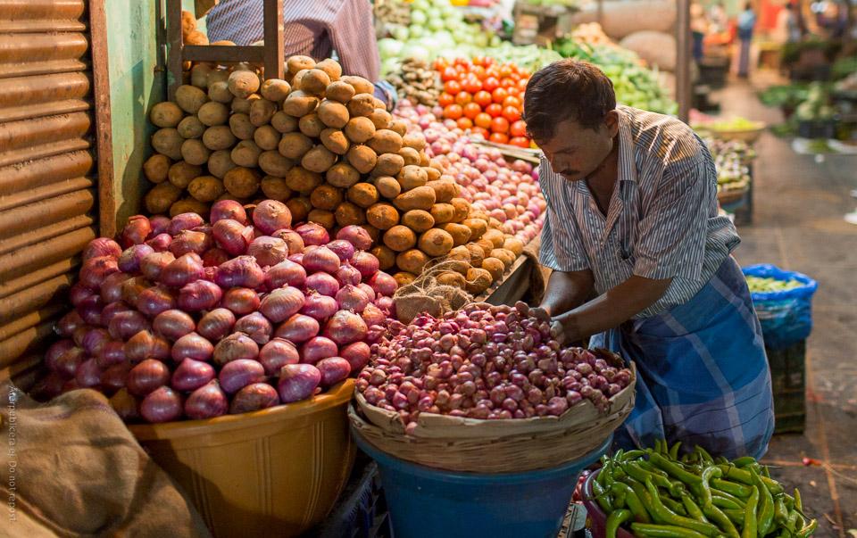 Grönsaksförsäljare III