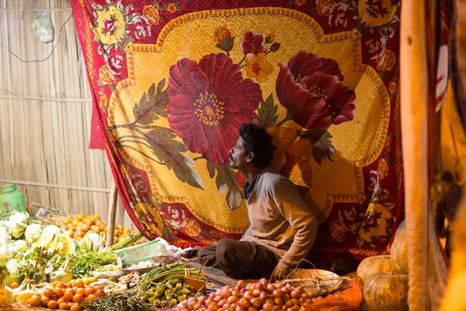 Grönsaksförsäljare V