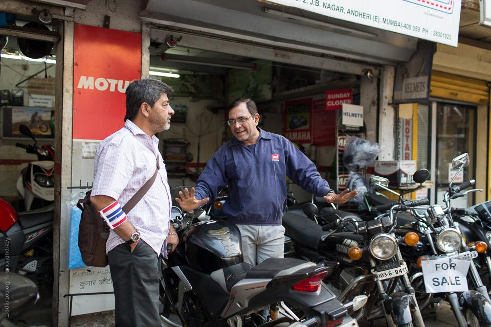 Mopedförsäljare