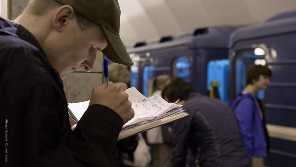 Matte i tunnelbanan