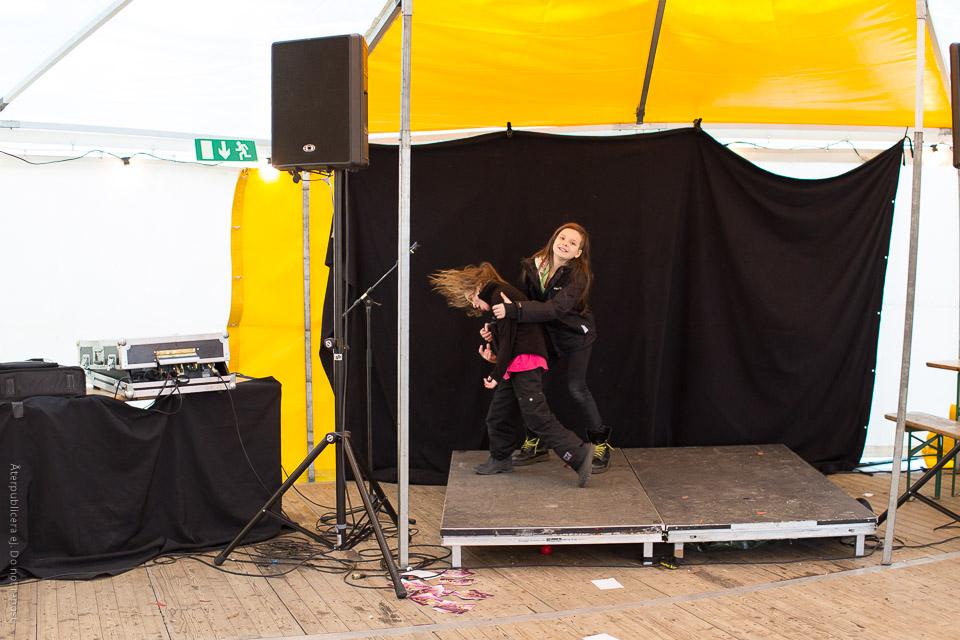 Barn på scen