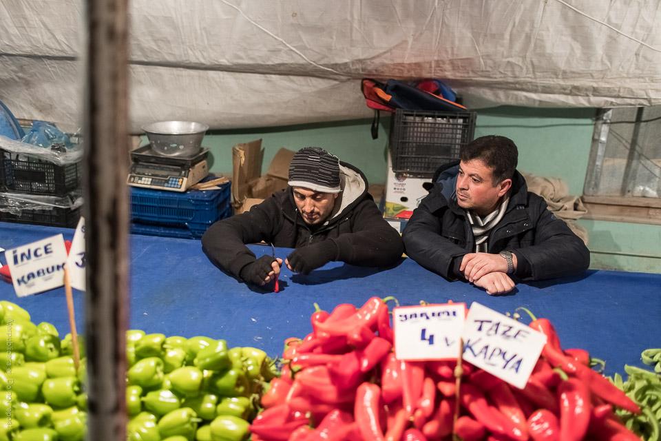 Grönsaksförsäljare IX