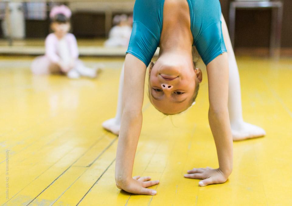 Balettövning