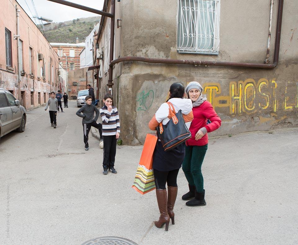 Georgiskt gathörn