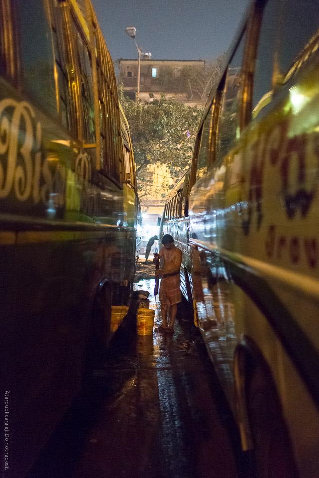 Busstvätt