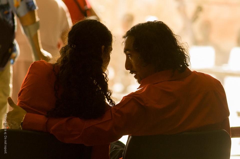 Par i rött
