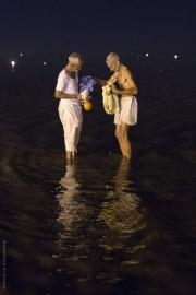 Män i vatten